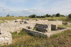 Potaissa ruins, Romania Royalty Free Stock Photos