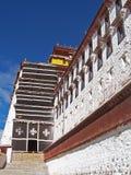 Potala宫殿在拉萨 免版税库存图片