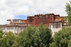 Potala宫殿 免版税库存图片