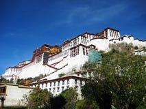 potala дворца lhasa Стоковое Изображение RF