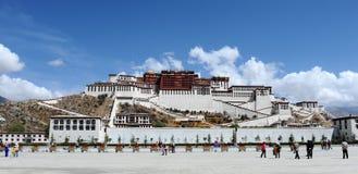 potala Тибет дворца lhasa Стоковые Фото