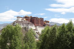 Potala 1140 Stock Photography