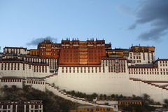Potala 1881 Stock Images