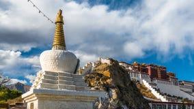 Potala kloster i Tibet Royaltyfri Foto