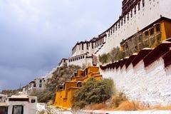 Potala Lhasa de Tibet Imagem de Stock