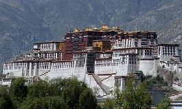 The Potala in Lhasa 3 Stock Image