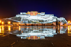 Potala Monastery in Tibet Royalty Free Stock Photo