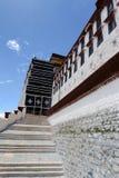Potala pałac w Tybet zdjęcie stock