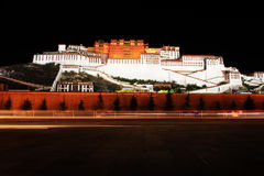Potala Pałac Zdjęcie Royalty Free
