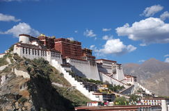 The Potala Palace. In Lhasa, Tibet, China Royalty Free Stock Photos