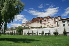 The Potala Palace Royalty Free Stock Photo