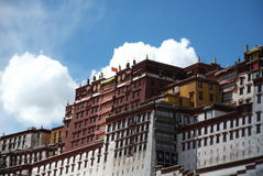 The Potala Palace Stock Photography