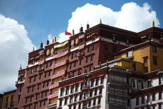 The Potala Palace Stock Image