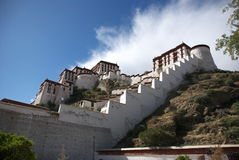The Potala Palace. In Lhasa, Tibet, China Stock Images
