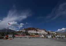 The Potala Palace. In Lhasa, Tibet during National Day holiday Royalty Free Stock Image