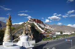 The Potala Palace. In Lhasa, Tibet, China Stock Photo