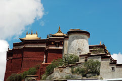Potala palace. Scenery of the famous potala palace in Lhasa,Tibet Royalty Free Stock Photos