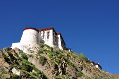 Potala palace. The Potala, the traditional but deserted, residence of the Dalai Lama in Lhasa, Tibet, China Royalty Free Stock Photos