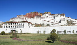 Potala palace. The residence of Dalai Lama. Lhasa. Tibet Royalty Free Stock Images
