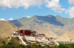 Potala Palace. China, the Potala Palace in Lhasa, Tibet Royalty Free Stock Images