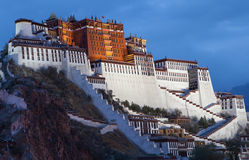 Potala Palace. Stock Photography