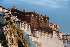 Potala Palace. In Tibet, China. Photo taken in the morning Royalty Free Stock Photography