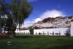 Potala Palace. In Tibet of China Stock Images