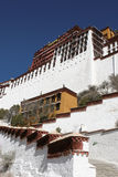 Potala palace. Building of potala palace at lhasa Stock Photos
