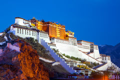 Free Potala Palace Royalty Free Stock Image - 43717096