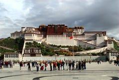 Potala Palace. The Potala Palace in Lhasa, Tibet Stock Images