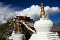 Potala Palace. In summer Lhasa Tibet Asia Stock Photos
