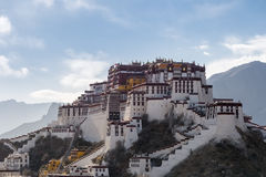 The potala palace in the afternoon Stock Photography