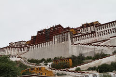 Potala Palace, the Buddhist temple complex Royalty Free Stock Images