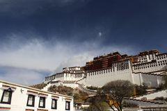 Potala palace. On a clear Lhasa day Royalty Free Stock Image