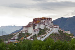 Potala palace and cloudscape Stock Photo