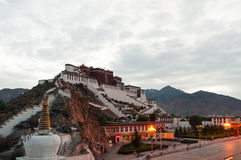 Potala palace dawn Royalty Free Stock Image