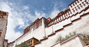 The Potala Palace. Day of the Potala Palace, the magnificent towering Royalty Free Stock Photos