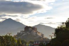 Potala Palace, former seat of Dalai Lama in Lhasa Stock Photo