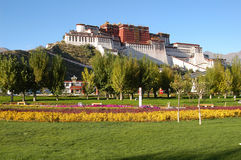 Potala palace in Lhasa. Tibet, China Royalty Free Stock Images