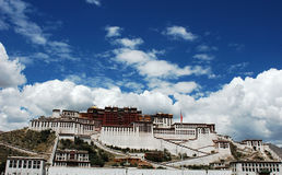 Potala Palace in Lhasa Stock Photography