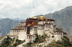 Potala Palace in Lhasa Stock Photos