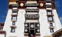 Potala palace in Lhasa Royalty Free Stock Images