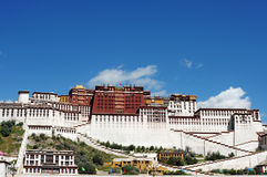 Potala Palace in Lhasa Royalty Free Stock Photos