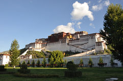 Potala palace in lhasa Stock Photos