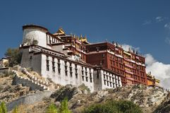 Potala palace in Lhasa. Tibet Royalty Free Stock Images