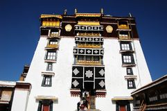 The Potala Palace in Lhasa Stock Photography