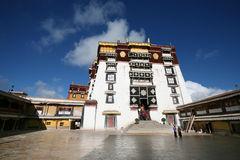 The potala palace, lhasa in tibet Stock Image