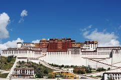 Potala Palace in Lhasa Tibet Stock Photo