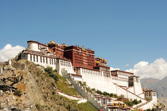 Potala Palace in Lhasa,Tibet Royalty Free Stock Image