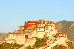 Potala Palace in Lhasa,Tibet Stock Image
